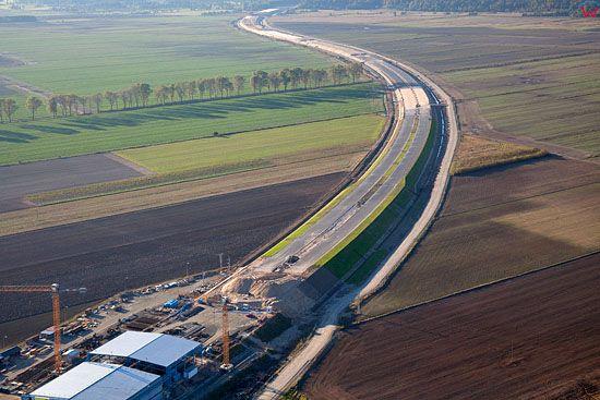 Lotnicze, Pl, kujawsko - pom. Budowa poludniowej obwodnicy Grudziadza 10-10-2010 r.