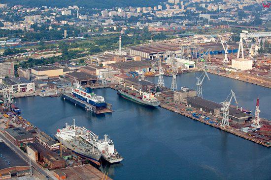Port Gdynia, Basen VI. EU, Pl, pomorskie. Lotnicze.