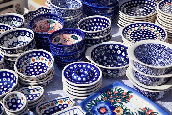 Wyroby ceramiczne z Boleslawca. EU, PL, Dolnoslaskie.