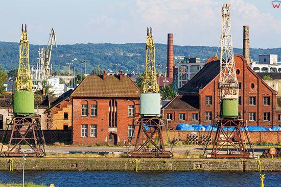 Szczecin, nabrzeze portowe. EU, Pl, Zachodniopomorskie.
