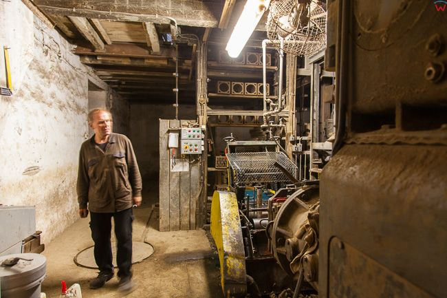 Kowale Oleckie, fabryka produkujaca cegle. EU, Pl, Warm-Maz.