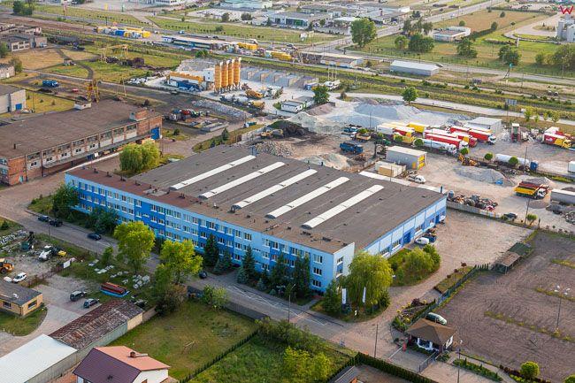 Grudziadz, Zaklad produkcyjny Hydro-Vacuum. EU, Pl, Kujaw-Pom. Lotnicze.