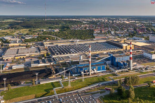 Olsztyn, Fabryka Michelin Polska. EU, PL, warm-maz. Lotnicze.