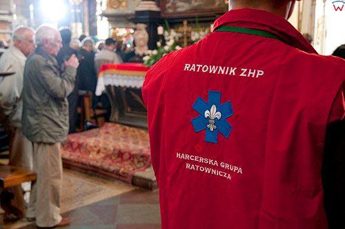 Uroczystosci pogrzebowe szczatkow Mikolaja Kopernika w Katedrze Fromborskiej - 22.05.2010 r.