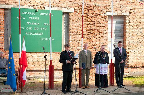 PL, warm-maz. Ponowny pochowek M. Kopernika, uroczystosci w Pasleku. 21-05-2010r.
