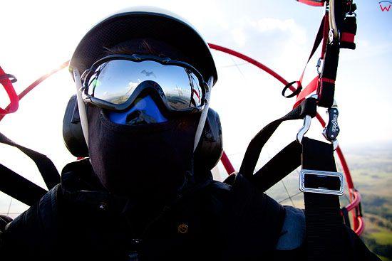 Lotnicze, PL, warm-maz. Paralotniarz.