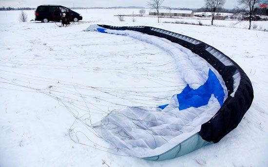 Lotnicze, EU, Pl, warm-maz. Paralotniarstwo.