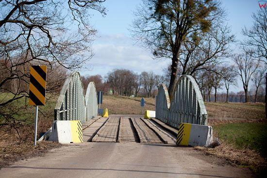Most na rzece Guber w Prosnie.