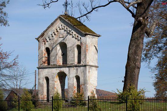 Dzwonnica w Bachlawie. EU, Pl, podkarpackie.
