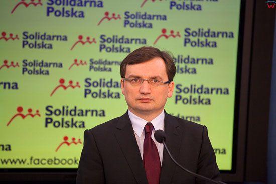 Zbigniew Ziobro - Prezes Solidarnej Polski.