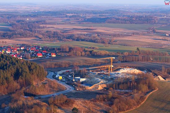 Termy Warminskie w Lidzbarku Warminskim. Stan budowy z dnia 15-04-2013 r. EU. PL, Warm-Maz. LOTNICZE.