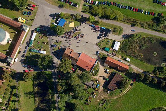 Dozynki Gminne w Stoczku Klasztornym, dn. 08.09.2013 r. EU, Pl, warm-maz. LOTNICZE.