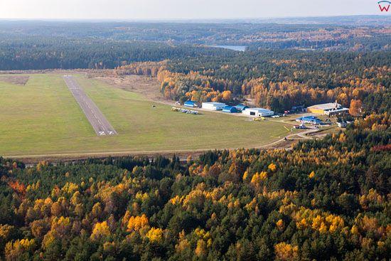 Olsztyn, Lotnisko Aeroklubowe Dajtki. EU, PL, Warm-Maz. LOTNICZE.