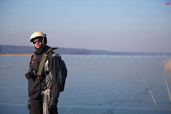 ZdjÄ™cia prywatne-w trakcie sesji fotograficznej na lyzwach, po jeziorze Kisajno. EU, PL, Warm-Maz.