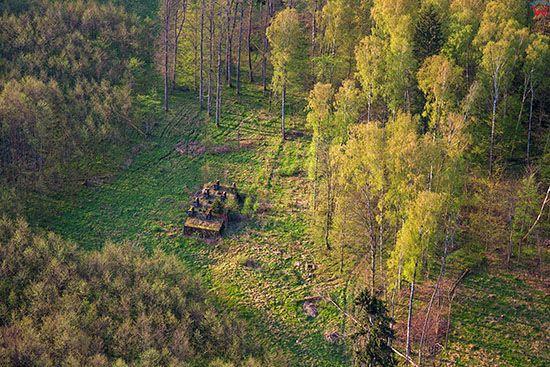 Mamerki, Kwatera Naczelnego Dowodztwa Wojsk Ladowych (OKH), niezniszczony kompleks poniemieckich bunkrow. EU, Pl, Warm-Maz. Lotnicze.