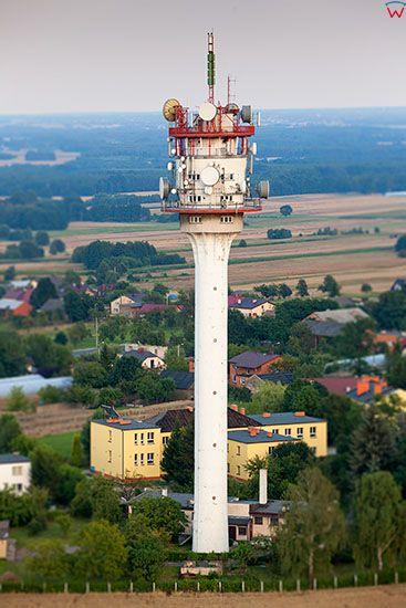 Chelmce, Stacja Linii Radiowych. EU, Pl, Wielkopolskie. Lotnicze.