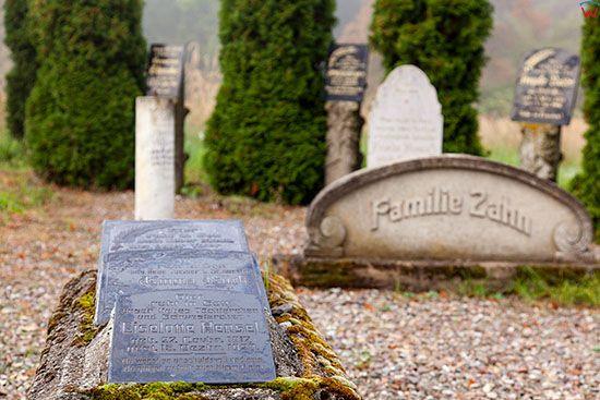Slonsk, stary cmentarz. EU, Pl, Lubuskie.