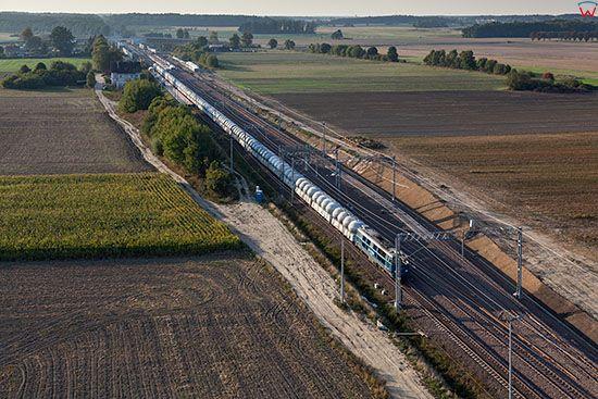 Redaki, trakcja kolejowa. EU, PL, Warm-Maz. Lotnicze.
