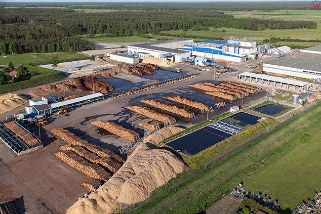 Wielbark, IKEA Swedwood Poland EU, Pl, Warm-Maz. Lotnicze.