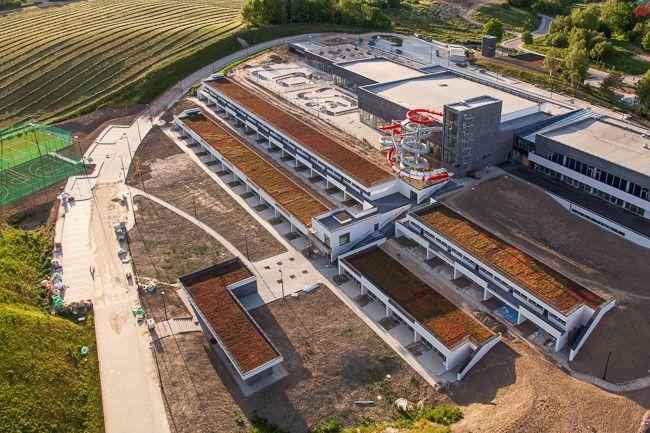 Lidzbark Warminski, Termy Warminskie zakonczenie budowy stan z dnia dn. 07.06.2015r.. EU, Pl, Warm-Maz. Lotnicze.