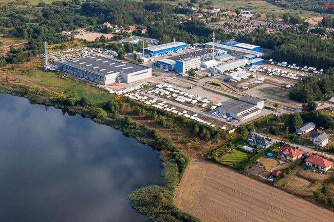 Ostroda, fabryka jachtow Ostroda Yacht Sp. z o.o. EU, Pl, Warm-Maz. Lotnicze.
