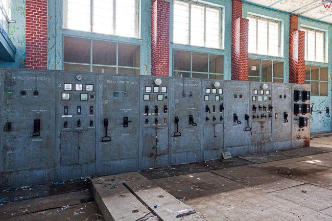 Lidzbark Warminski, 23.05.2016.  Wnetrza stacji nadawczej wybudowanej w 1930 roku przez Niemcy. Po wojnie nadajniki radiostacji zagłuszały sygnał Radia Wolna Europa. EU, PL, Warm-Maz.