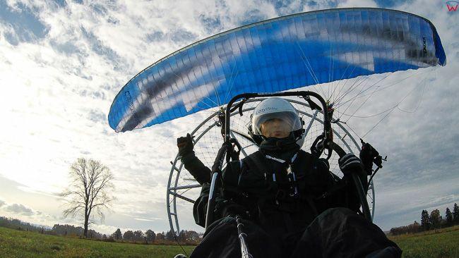 Start motoparalotni, 07.11.2017 EU, Polska, warm-maz. Lotnicze