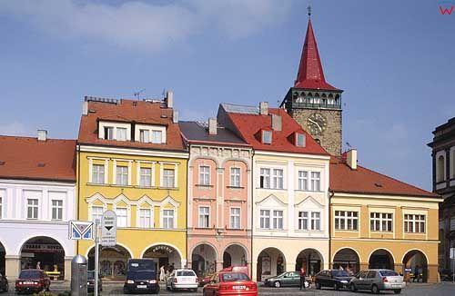 Czechy. Rynek w Iczynie
