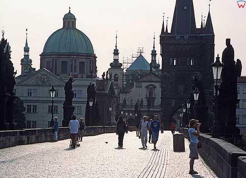 Praga. Most Karola.