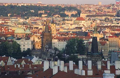 Praga, widok miasta