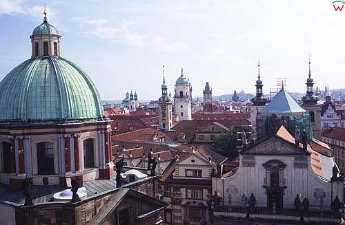 Praga, panorama miasta