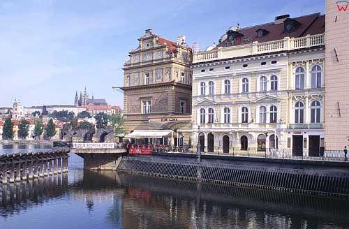Praga rzeka Wełtawa
