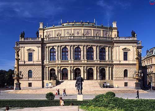 Praga, zabudowa miasta.