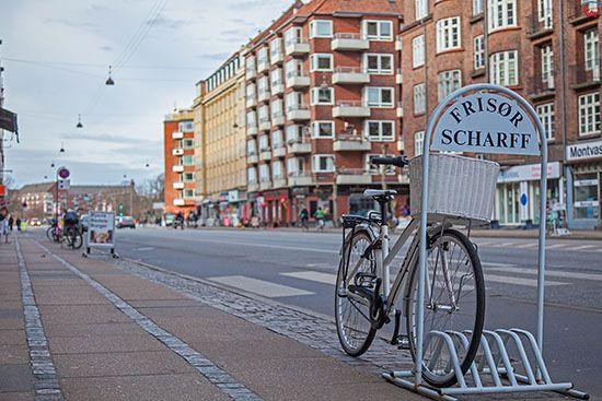 Kopenhaga (Dania). Ulica Amagerbrogade