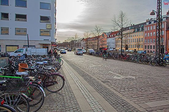 Kopenhaga (Dania). Christianshavn Square