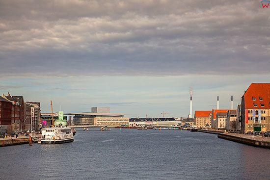 Kopenhaga (Dania). Główny kanał Kopenhagi - Inderhavnen