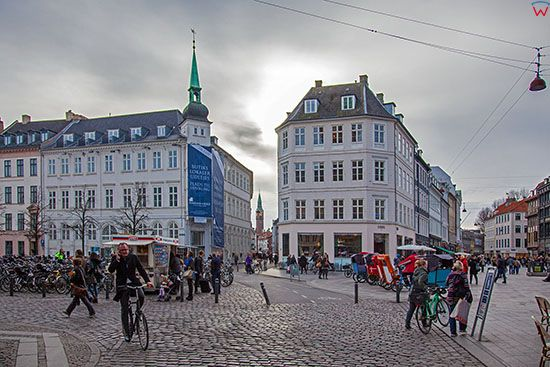 Kopenhaga (Dania). Plac Amagertorv