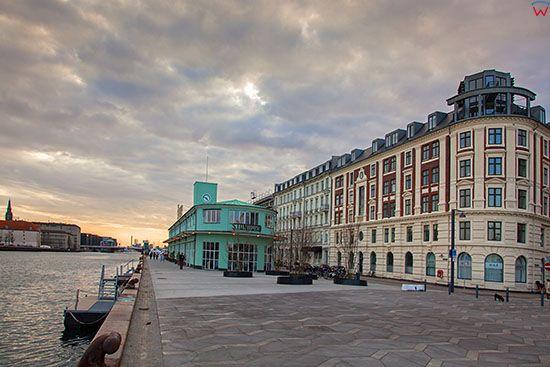 Kopenhaga (Dania). Havnepromenade