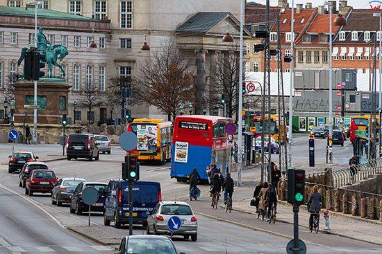 Kopenhaga (Dania). Christiansborg Slotsplads
