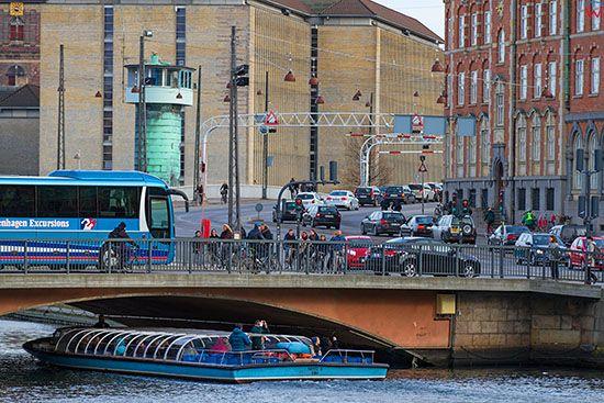 Kopenhaga (Dania). Kanal i ulica Borsgade