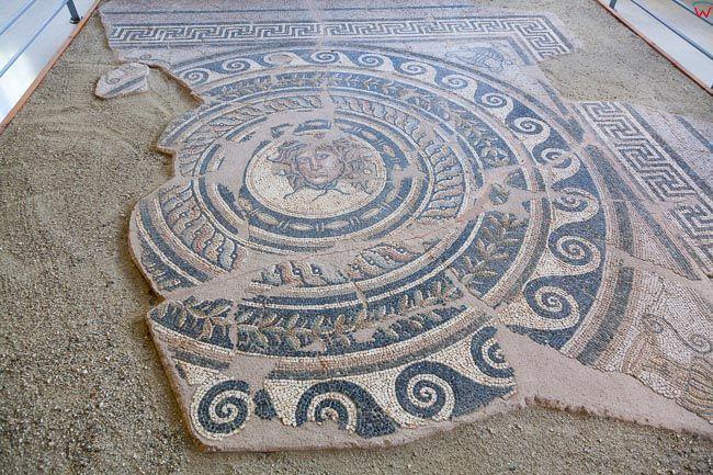Grecja, Dion - Muzeum Archeologiczne z eksponatami. EU, PL,