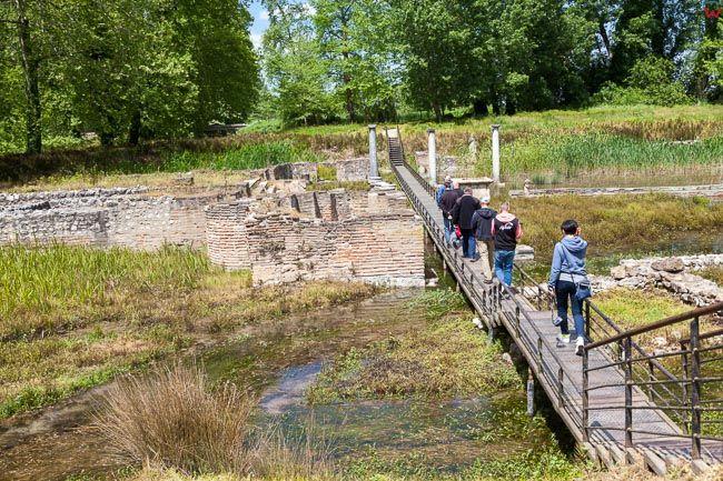 Grecja, Dion - Kompleks Archeologiczny polozony u stop Olimpu. EU, PL,
