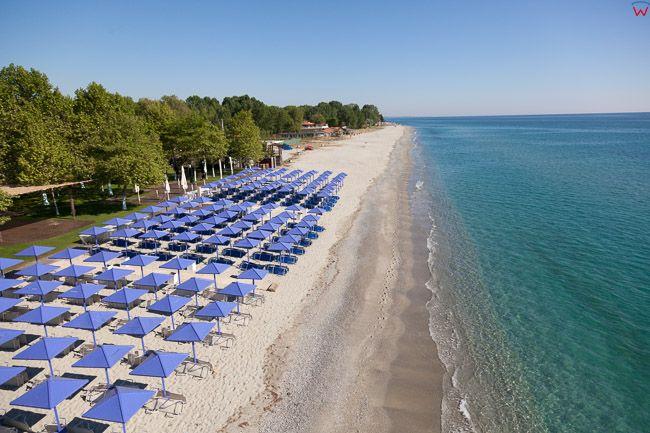 Grecja, Katerini - Zachodnie Wybrzeze Zatoki Termajskiej. EU, PL, Lotnicze