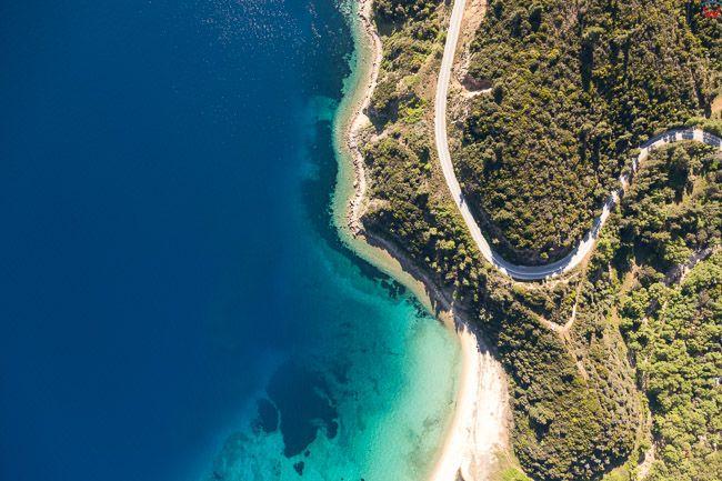 Grecja, Polwysep Chalcydycki - Sithonia peninsula. EU, PL, Lotnicze