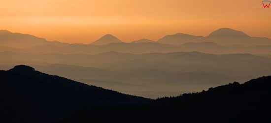 Apeniny Srodkowe, okolica Toppo di Moro.  EU, Italia, Toskania. LOTNICZE.
