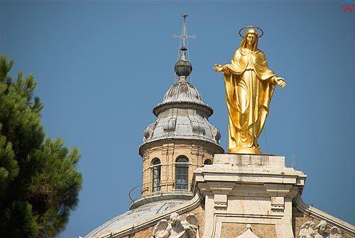 Italia-Wlochy. Umbria. Assisi-Asyż. Bazylika.