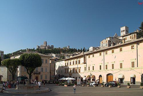 Italia-Wlochy. Umbria. Assisi-Asyż.