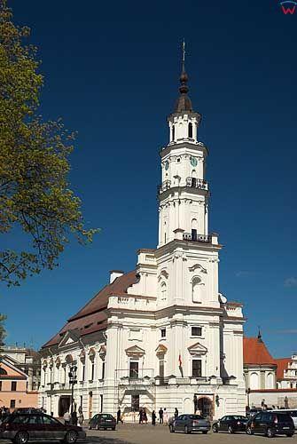 Litwa-Kowno (Kaunas). Ratusz.