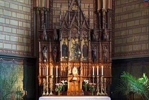 Litwa-Kowno (Kaunas). Wnętrze kaplicy w archikatedrze Piotra i Pawła.