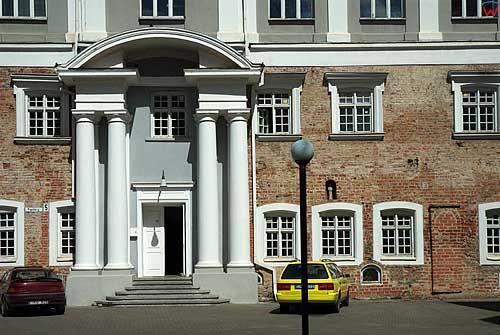 Litwa-Kowno (Kaunas). Kompleks pałacowy przy ul. Papilio.